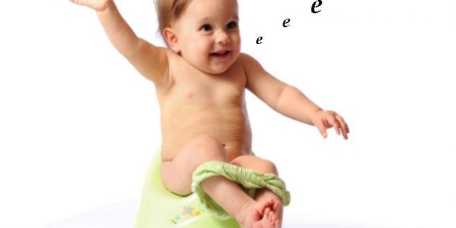 бебе на гърне