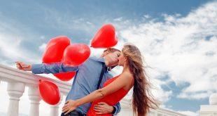 Свети Валентин  в сърца и любов