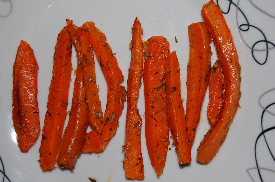 Моркови на пара