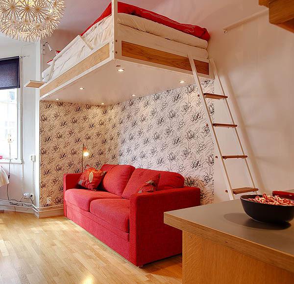 Идея за обзавеждане на малък апартамент