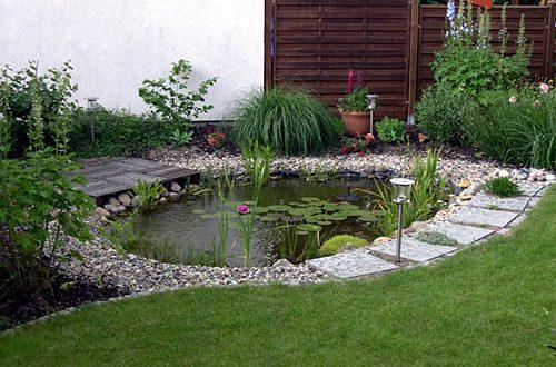 Декоративното езеро в градината е като огледалото във вашия дом
