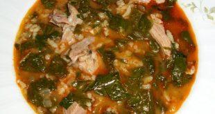 Агнешко месо със спанак