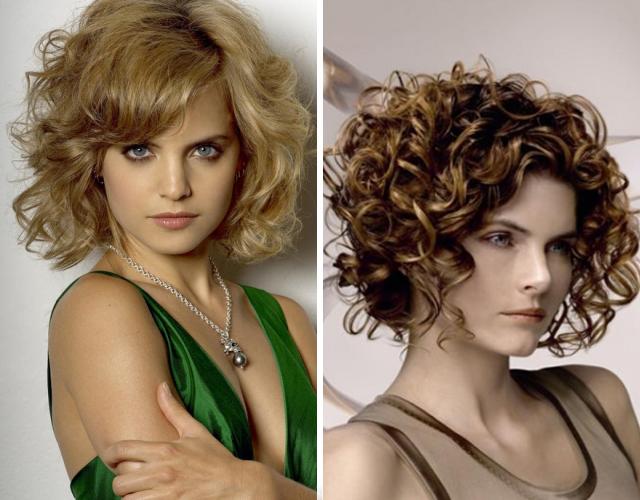 Средната дължина на косата също може да бъде красива