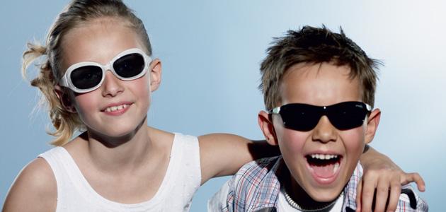 Очите на децата са много уязвими и чувствителни към UV и трябва да се пазят