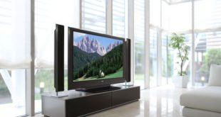 Телевизор у дома