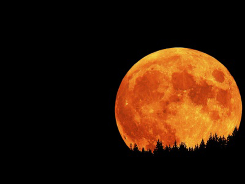 Оранжева Луна