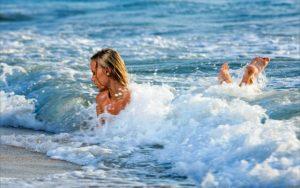 Изпаренията от морската пяна, които вдишваме прочистват и възстановяват лигавиците на носа и гърлото