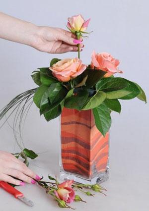 Подреждане на цветя