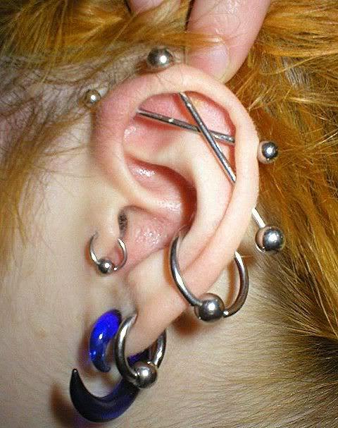 Пиърсинг на ухото