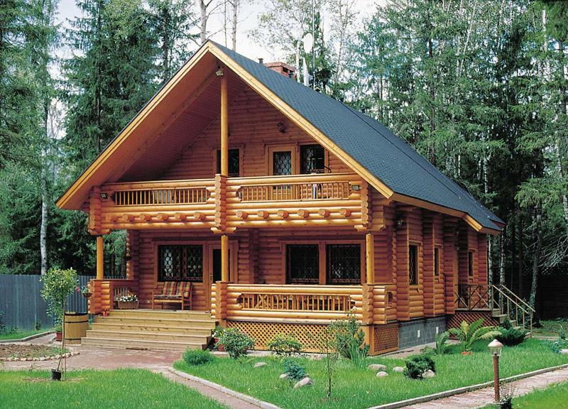 Дървена къща