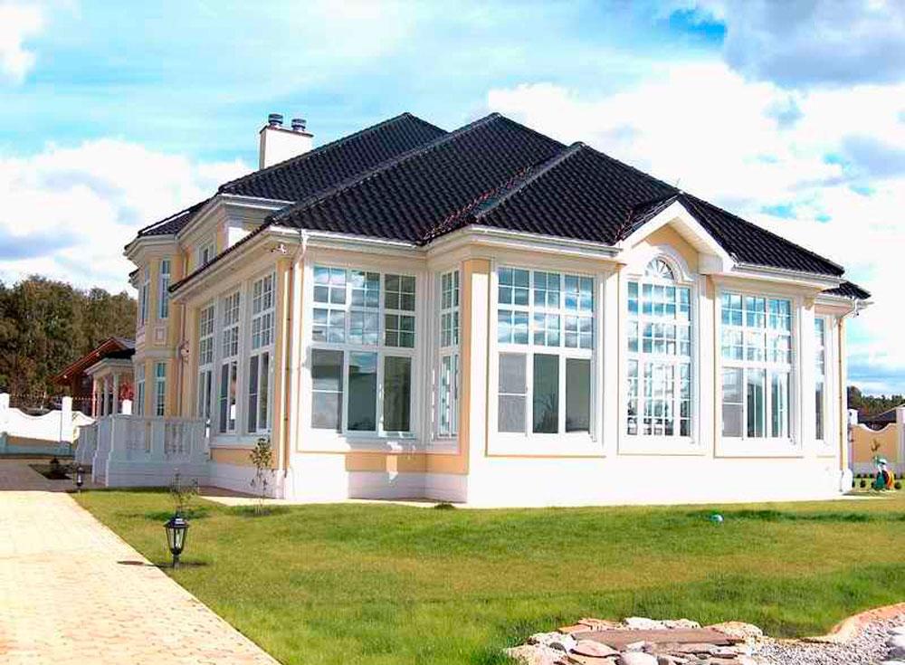 Сглобяема къща с метална конструкция