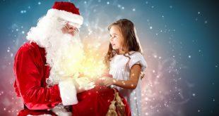 Децата и дядо Коледа