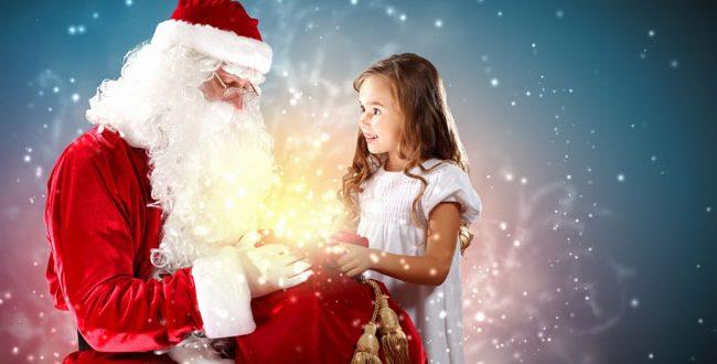 Дете с дядо Коледа